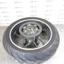 Triumph Street Triple 660 15 rear wheel rim with 80% tyre sprocket & disc rotor