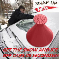 Magic Car Windshield Ice Tool Shaped Round Funnel Remover Snow RSH