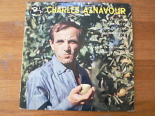 LP RECORD 10 INCH CHARLES AZNAVOUR PAUL MAURIAT ORCHESTRE BARCLAY 80161 LUCIE