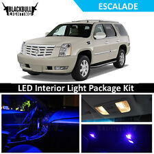 Blue LED Interior Lights Package Accessories Kit fits 2007-2014 Escalade