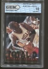 1995-96 Michael Jordan Fleer Total D #3 Gem Mint 10 Chicago Bulls
