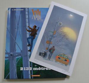 XIII T26 EO: 2132 mètres + ex-libris numéroté 500ex et signé Y. Jigounov - NEUF.