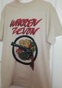 Warren Zevon T Shirt Music Blues Rock Werewolves Nilsson Bob Seger Tom Petty 370