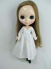 Blythe Outfit Handcrafted nightgown pajamas dress basaak doll 955 white