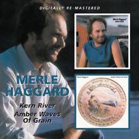 MERLE HAGGARD - AMBER WAVES OF GRAIN/KERN RIVER  CD NEW!