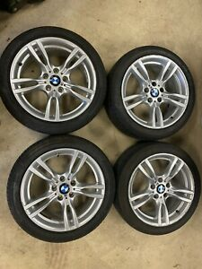 "18"" Genuine BMW 400m M Sport Staggered Alloy Wheels F30 f31 f36 F32 E90 400 m"