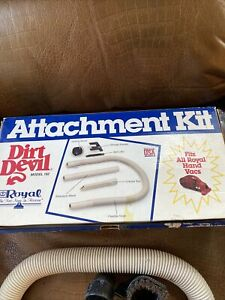 Dirt Devil By Royal White Attachment Kit Model 192 Fits All Hand Vac Partial