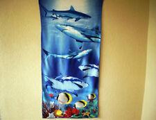 "Handtuch ""Haie"" (Mikrofaser) / Towel ""Sharks"" (Microfiber)"