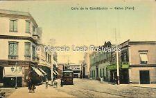 PERU CALLAO CALLE DE LA CONSTITUCION ED. SABLICH 13 22770
