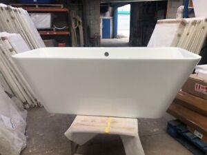British Baths Bradshaw Back To Wall Freestanding Bath  Ex-Photography Bargain!!!