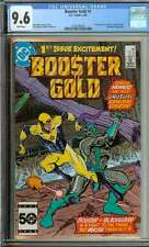 BOOSTER GOLD #1 CGC 9.6 WHITE PAGES