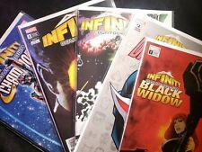 "Comic Lot (6) ""Infinity Countdown"" ~Marvel~ Variants / Black Widow, Darkhawk"