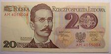 - Très bon billet - POLOGNE - 20 Zlotych - 1982 - Neuf