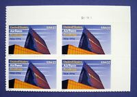 Sc # 3838 ~ Plate # Block ~ 37 cent U. S. Air Force Academy Issue (be23)