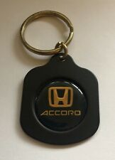 HONDA ACCORD METAL KEYCHAIN KEY FOB -NEW OLD STOCK