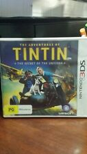 The Adventures of Tintin The Secret of the Unicorn (NO BOOKLET) NINTENDO 3DS *