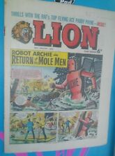 LION COMIC 30THJANUARY1965 1960S LOT#8 A CLASSIC GROUNDBREAKING UK COMIC