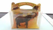 Wild Animal Africa Elephant  3D Puzzle Kit Toy NEW