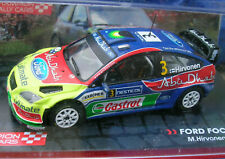 Ford Focus RS WRC Rally 2008 in perspex case scale 1/43