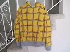 Yakuza Ink  Pull Over Hoodie Sweatshirt Jacket Yellow LARGE