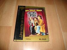 UNA NOCHE EN LA OPERA PELICULA EN DVD + LIBRO CON LOS HERMANOS MARX