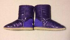Women's Ugg classic boots women's size 9 purple Glitter Bling Bling  Free Shipp