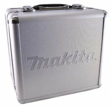 NEW Makita Silver Aluminum Hard Case Kitbox Storage holds 12V Tools (Except CXT)