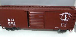 O Scale MTH Boston & Maine 40' Boxcar 93073