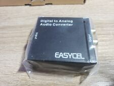 Easycel Audio Digital To Analog Converter Dac With 3.5Mm Jack, Optical Spdif Tos