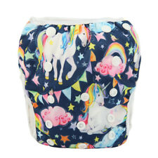 2019 New LARGE Swim Diaper Nappy Pants Reusable Baby Toddler Unicorn For Girls