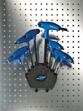 Park Tool PH-1 P-Handled Hex Set with holder