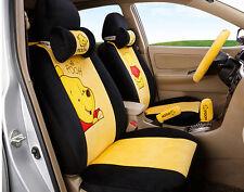 18pcs/set new Cartoon car seat cover plush universal seat covers car Cushion