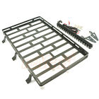 Xtra Speed Metal Cage Roof Luggage Tray w/ LED For Axial SCX10 II #XS-SCX230067
