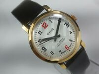 Vintage Mechanical Hand Winding Movement Mens Analog Wrist Watch A62
