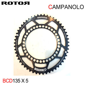 ROTOR QRINGS for Campagnolo Road Chainring 135BCD x 5 Campy 11Speed :Outer 53T