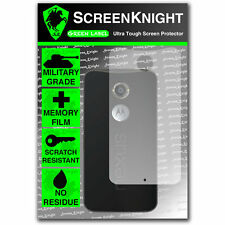 ScreenKnight Motorola Google Nexus 6 BACK SCREEN PROTECTOR invisible shield