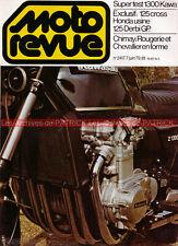 MOTO REVUE 2417 Dossier Essai KAWASAKI Z 1300 Z1300 KZ ; DERBI ; CHIMAY 1979
