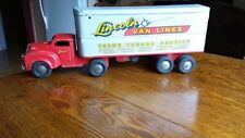 lincoln toys truck van linesTransport Truck Pressed Steel Toy canada