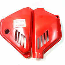 KAWASAKI-GENUINE-KE-125-KE125-1980-1983-Side-Cover-RED-LH-RH-NOS