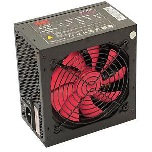 HKC 750 WATT Netzteil W GAMER PC Computer ATX SATA PCIe Leiser 12cm Lüfter 120mm