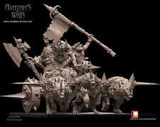 Goblin Boss Chariot, Warhammer, Saga, AoS, Avatars Of War, Kings Of War, WHFB