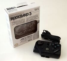 NEW MadCatz Rock Band 3 Midi PRO-Adapter Nintendo Wii  Keyboard Drum Guitar RB3