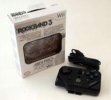 NEW MadCatz Rock Band 3 Midi PRO-Adapter Nintendo Wii  Keyboard Drum Guitar RB3