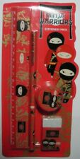 "NINJA WARRIORS - ""STATIONERY PACK""  RED NS0030  MINT"