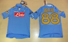 FOOTBALL NAPOLI 2012 TRICOT HAUT INLER TAILLE M UEFA LIGUE DES CHAMPIONS COUPE