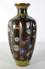 More details for antique japanese cloisonne vase meiji period late 19thc