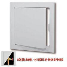 """Plastic Easy-Snap Wall or Ceiling Access Panel for 14"""" x 14"""" Opening"""