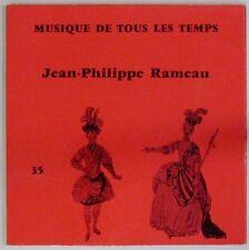Musique de tous les temps 45 tours Jean-Philippe Rameau