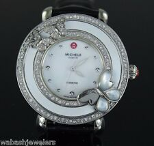 Ladies Michele Cloette Butterfly Diamond Limited Edition Wrist Watch