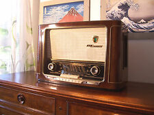 ANTICA_RADIO Grundig 2035/56 3D Sound Tube Radio Tuberadio Fully Restored! TOP!